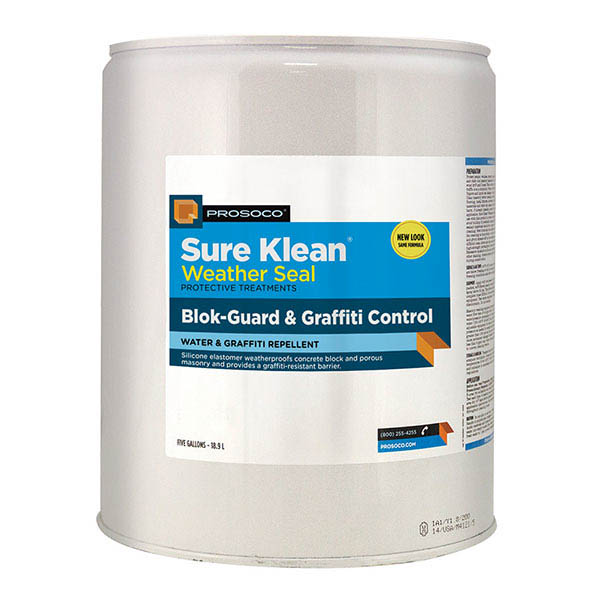 Prosoco Sure Klean® Weather Seal Blok-Guard® & Graffiti Control, 5-gal.