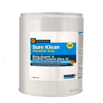 Prosoco Sure Klean® Weather Seal Blok-Guard® & Graffiti Control 15, 5-gal.