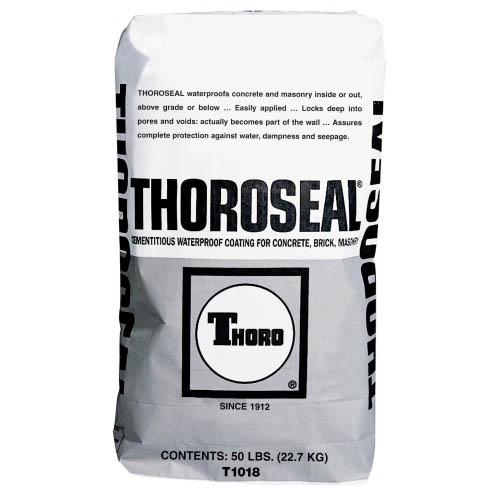 MasterSeal® Thoroseal Cement-Based Waterproof Coating Gray, 50-lb.