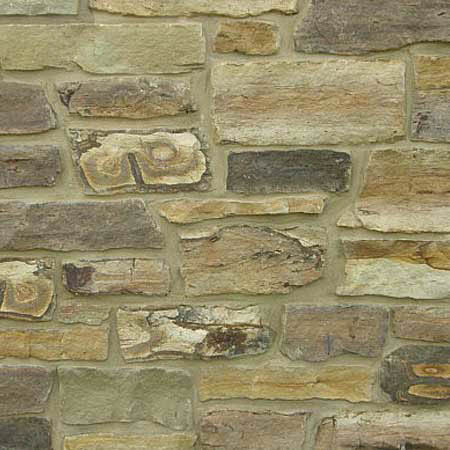 "Earthworks Weathered Fieldstone 4"" Veneer Split"