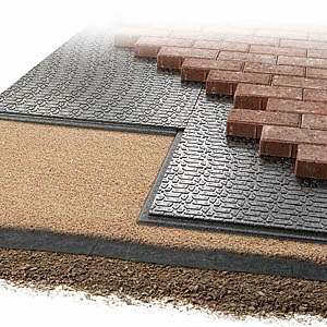 "Brock® PaverBase® Panel, 24""x36"""
