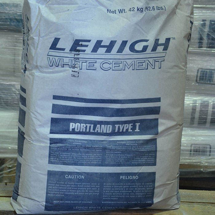 Lehigh White Portland Cement Type I, 94-lb.