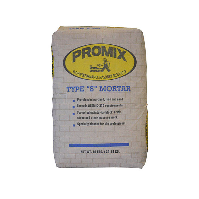 U-Mix PROMIX® Custom Colored Mortar, Type S With WPLS, 70-lb., Light Seashell