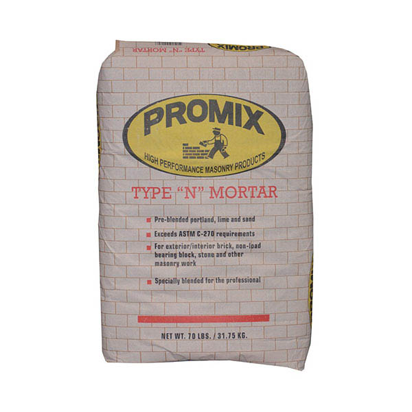 ProMix Pre-blended Portland Lime and Sand Mix Mortar Type N, 70-lb.