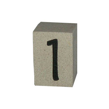 Cast Stone House Number #1