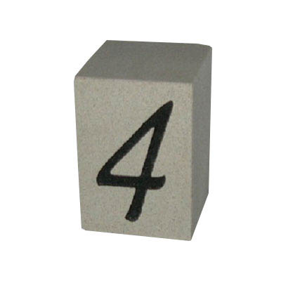 Cast Stone House Number #4
