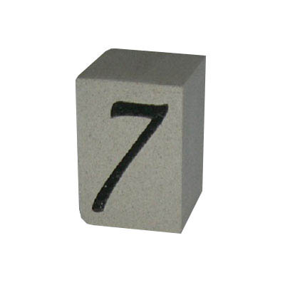 Cast Stone House Number #7