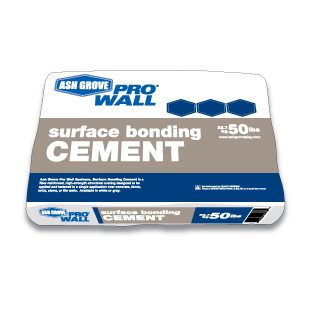 Ash Grove® Surface Bonding Cement 50-lb., Gray