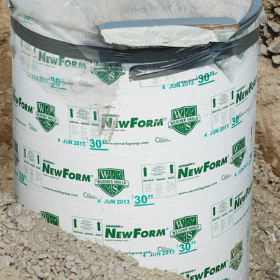 Newark NewForm®  Concrete Forming Tube, 12""