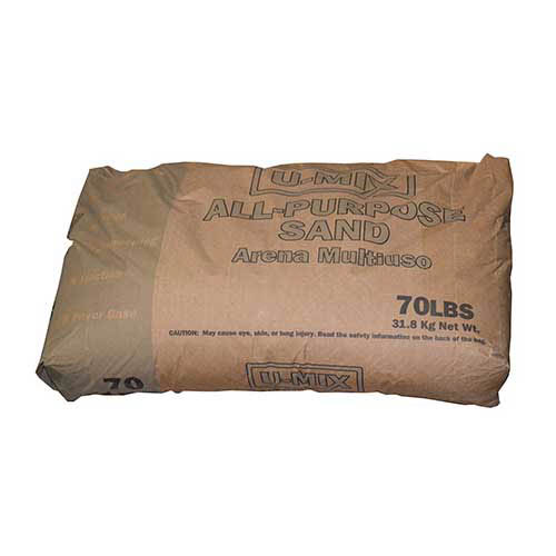 U-Mix All-Purpose Sand, 70-lb.