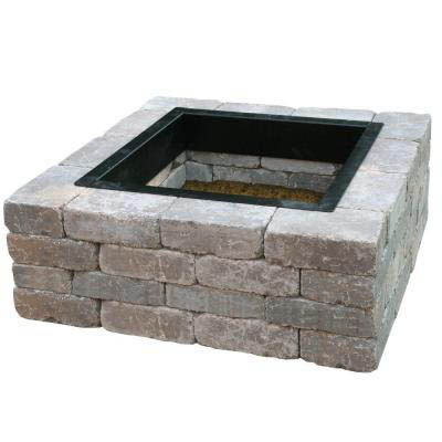 Anchor Fresco™ Square Fire Pit Kit, Northwoods