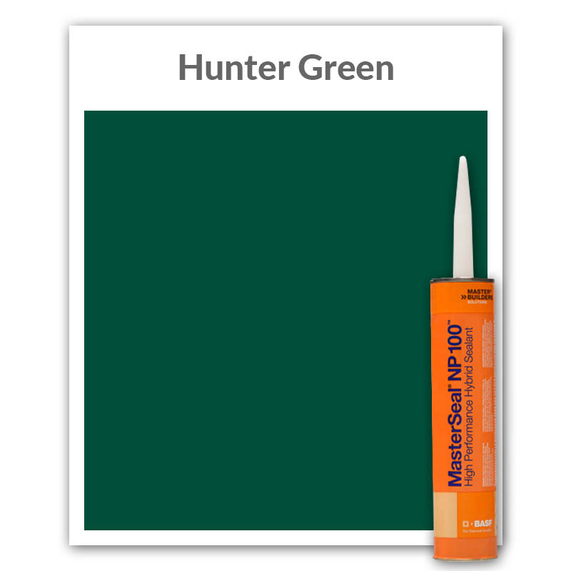 MasterSeal® NP 100™ High Performance Hybrid Sealant 10.1-oz., Hunter Green