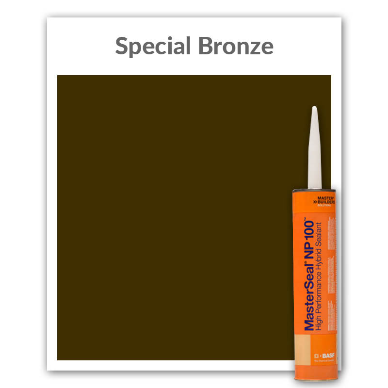 MasterSeal® NP 100™ High Performance Hybrid Sealant 10.1-oz., Special Bronze