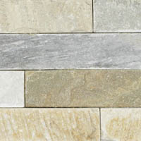 Align Stone Traditional Ledge Sunset Gold Corner Panel