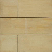 County Materials Grand Milestone Pavers®, Blended Colors, Oasis