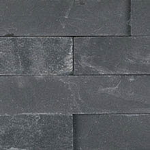 Align Stone Traditional Ledge Charcoal Corner Panel