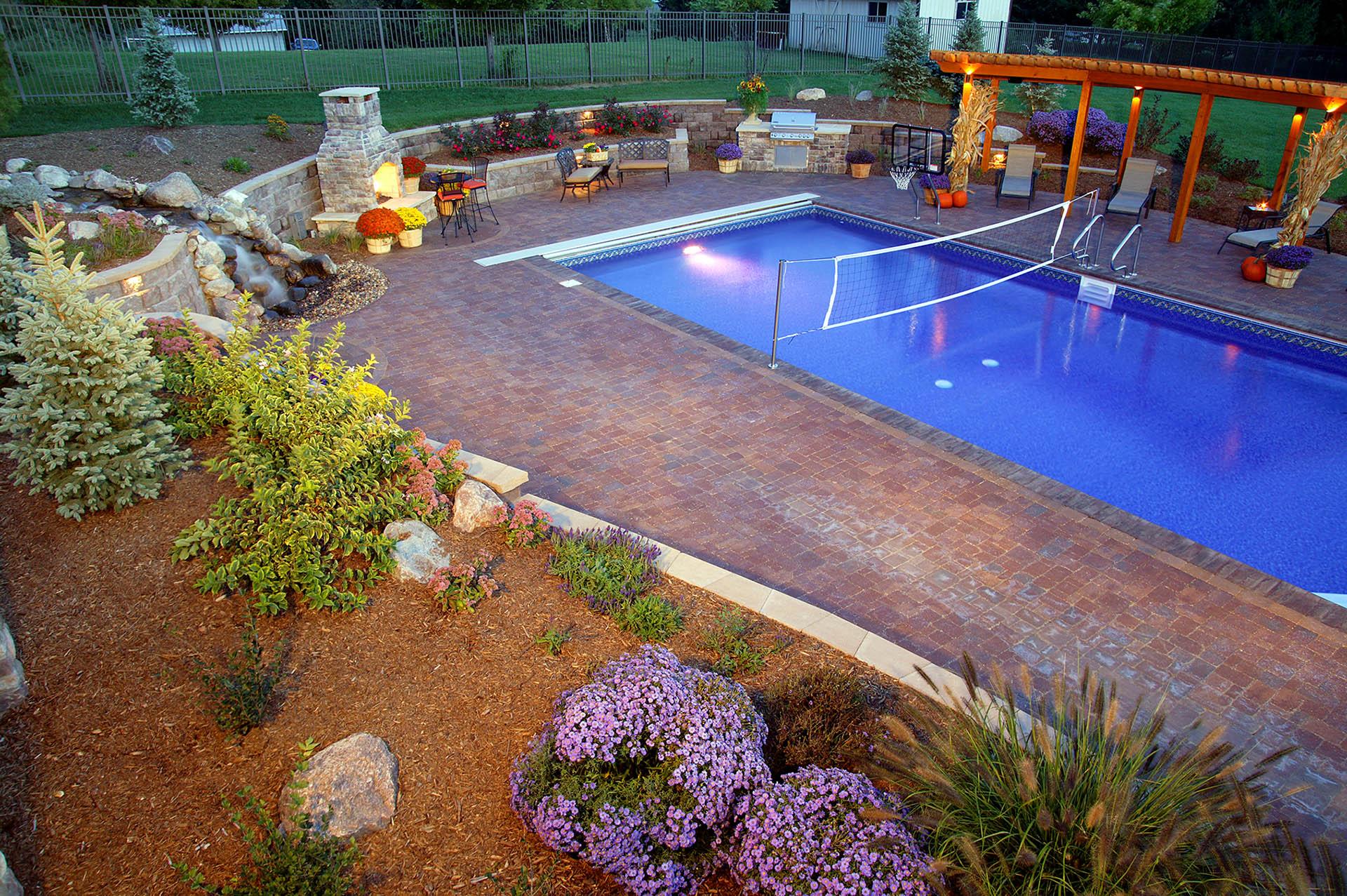 picture perfect backyard u2013 watkins concrete block