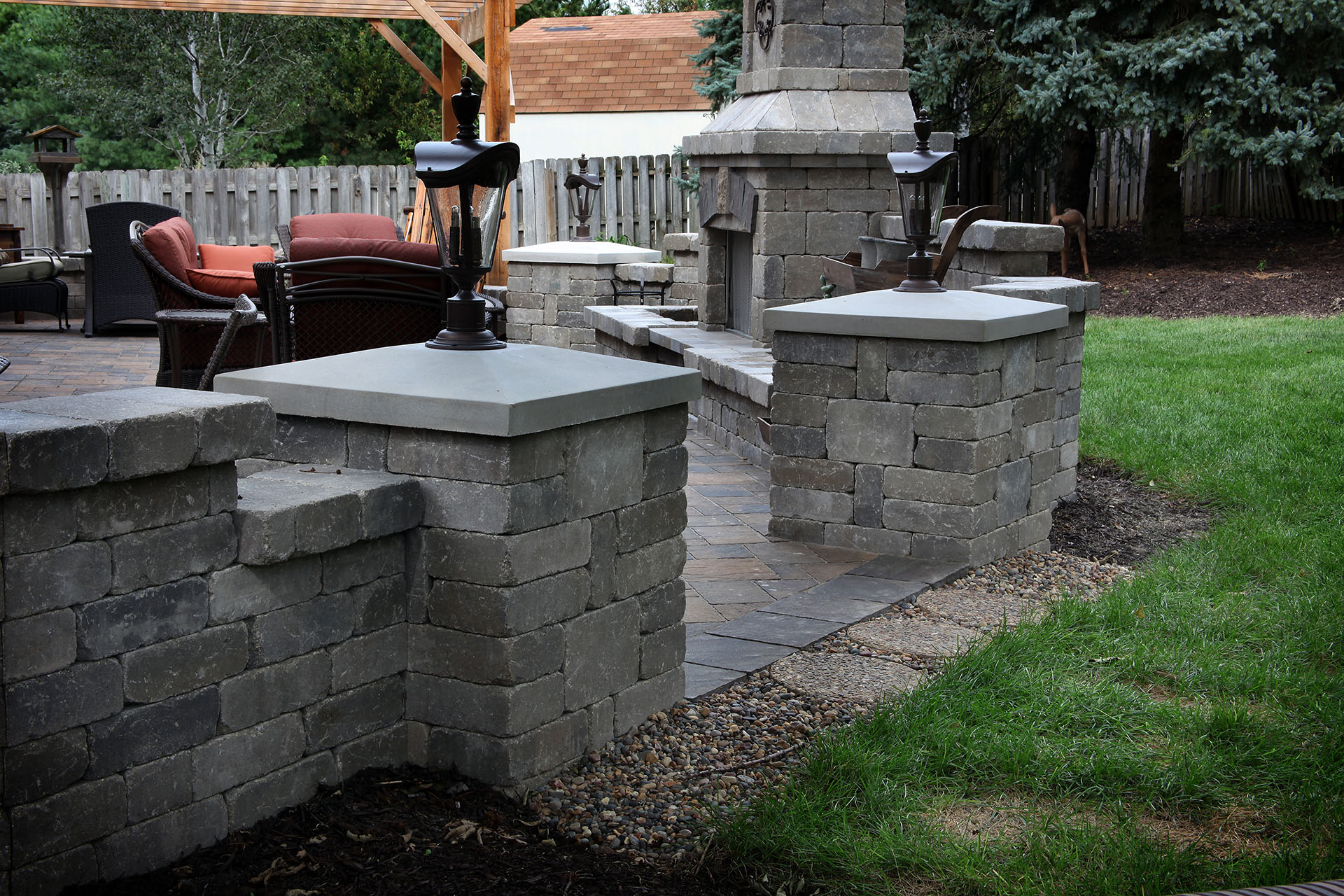 Decorative Walls & Pillars – Project Type – Watkins Concrete Block